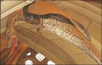 Quel nom porte le serpent que Saint Clément, de Metz, terrassa en passant son étole autour de son cou ?