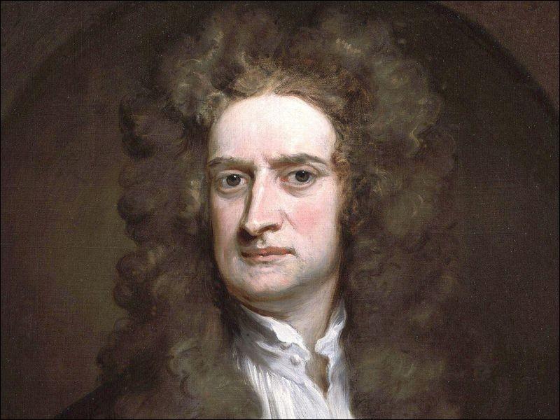 Quelle est la date de naissance d'Isaac Newton ?