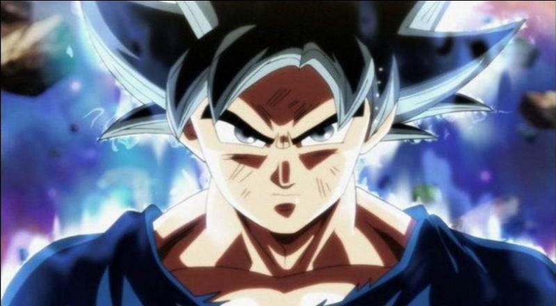 Durant le combat avec Jiren, Goku a développé une transformation. Laquelle ?