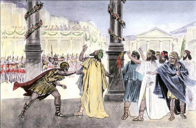 Cet officier et garde du corps assassina lâchement le roi Philippe II de Macédoine. Qui est-il ?