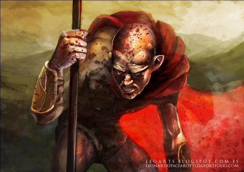 Cette ordure trahit les Spartiates de Léonidas à la bataille des Thermopyles en dévoilant à Xerxès I le sentier de l'Anopée. Qui est-il ?