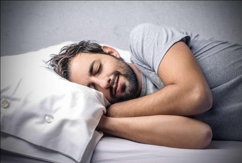 Quelle est la moyenne de sommeil d'un Français par an ?