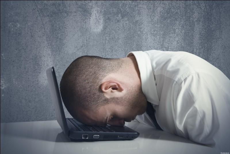 Quel est le pourcentage de Français qui ont déclaré avoir un manque de sommeil pour cause du rythme du travail ?