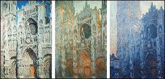 Claude Monet a peint une série de tableaux sur la cathédrale de Rouen.