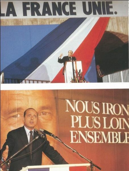 En mai, François Mitterrand sort vainqueur des présidentielles : par quel score ?