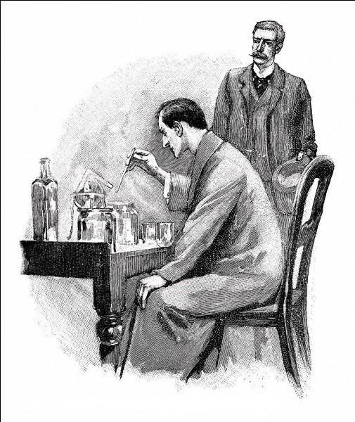 Sherlock Holmes est un personnage de fiction. Qui l'a créé ?