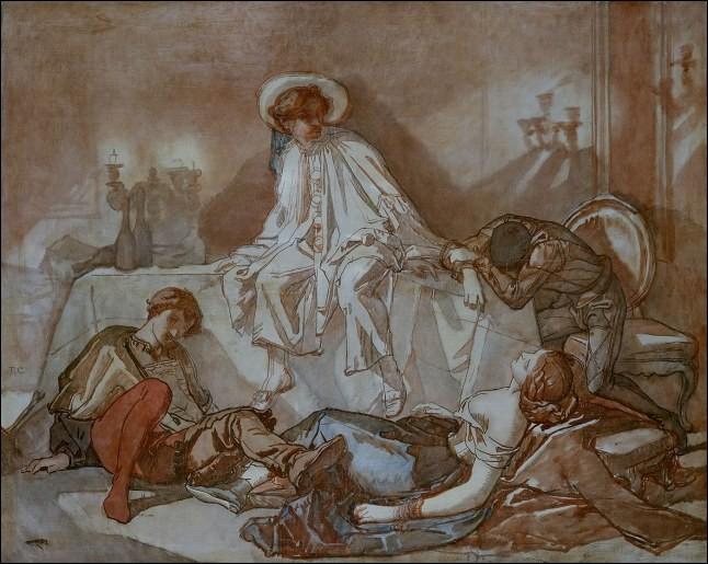 """Qui a peint """"Le Souper à la maison d'or"""" ?"""