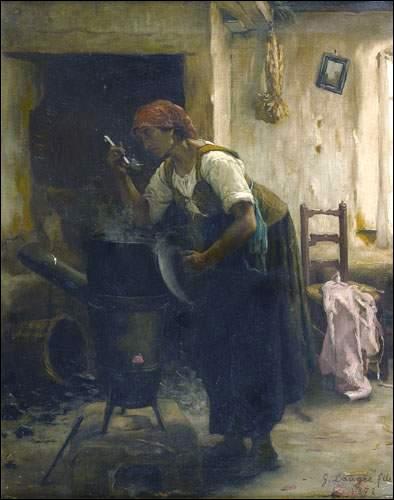 """Qui est le peintre de """"La Soupe"""" ?"""