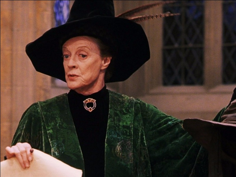 McGonagall adore les truites à la cannelle :