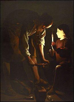 "Qui a peint ""Saint-Joseph charpentier"" ?"