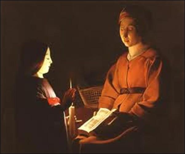 """Qui a peint """"L'Éducation de la Vierge"""" ?"""