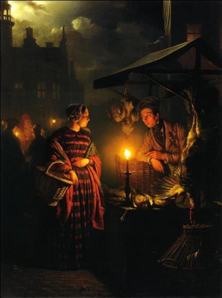 """Qui est le peintre de """"La Place du marché à la chandelle"""" ?"""