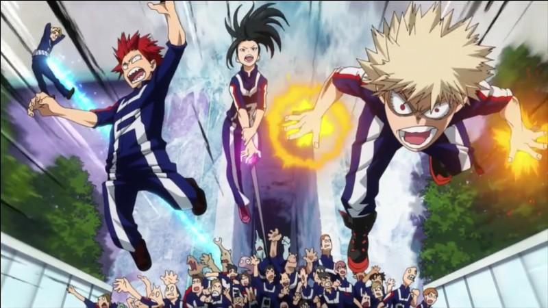 Bakugo, Kirishima, Mina et Sero ont fait équipe a l'épreuve des cavaliers. Ont-il gagné ?