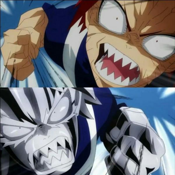 Kirishima a ensuite fait face à Tetsutetsu. Qui a gagné la première manche ?