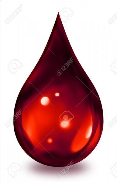 Quel est son groupe sanguin ?