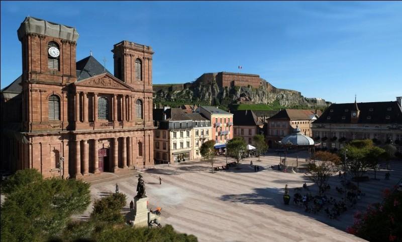 Que trouve-t-on dans la ville de Belfort ?