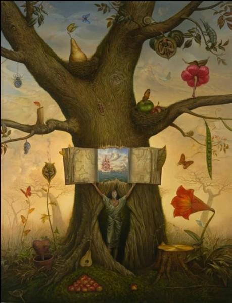 Qui a représenté cet arbre surréaliste ?