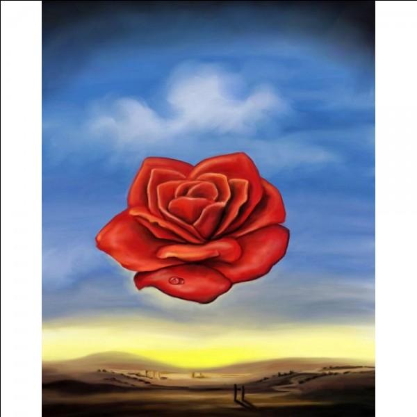Qui a peint cette rose ?