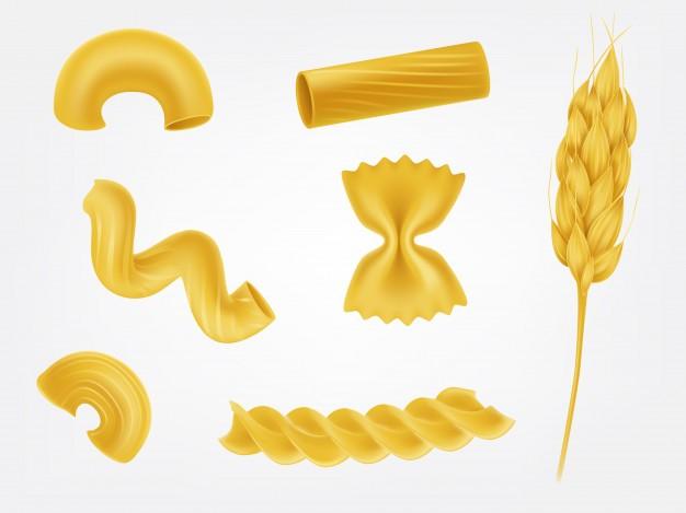 Les variétés de pâtes alimentaires