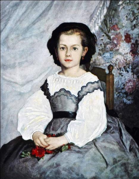 Qui a fait le portrait de Romaine Lacaux ?