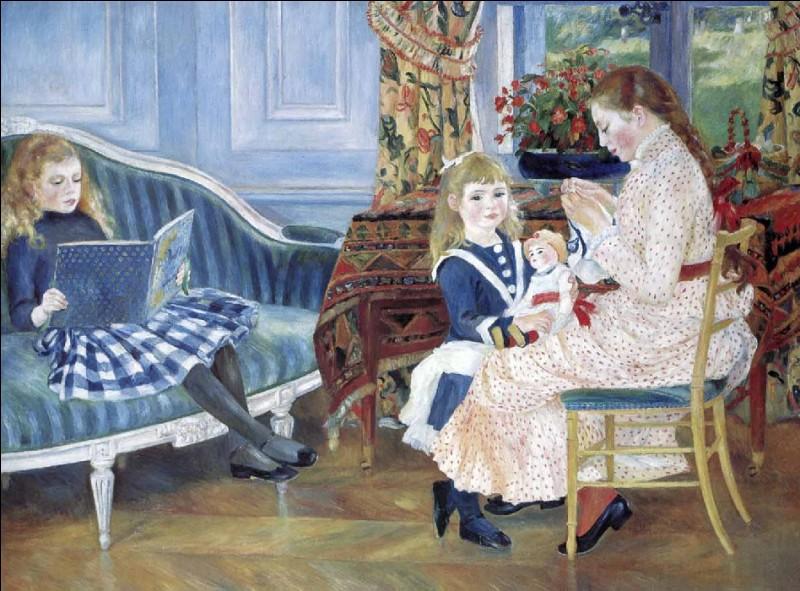 """Qui a peint """"Après-midi des enfants à Wargemont"""" ?"""