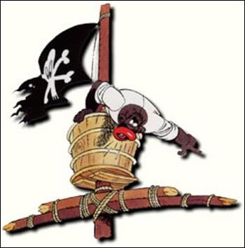Dans quel épisode de la série, les pirates ne se font-ils pas couler ?
