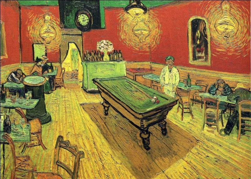 """Qui est le peintre du """"Café de nuit"""" ?"""