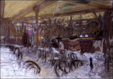 """Qui a peint le """"Café Weppler"""" ?"""