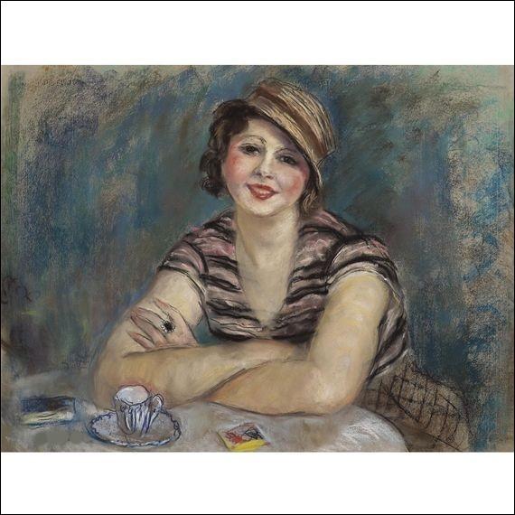 Pour cette jolie dame, ce sera une tasse de café, offerte par :