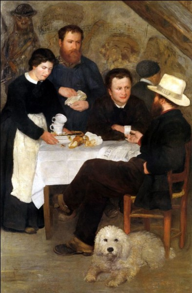 On boit aussi le café à l'auberge de la Mère Anthony ! Qui a représenté cette scène ?