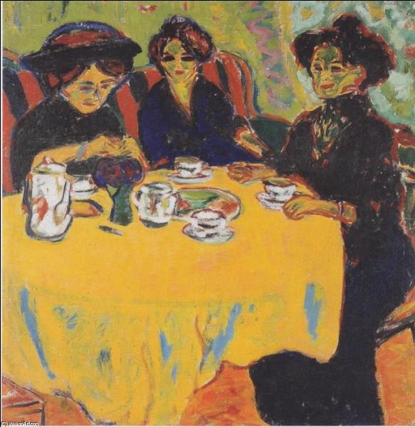 Qui a représenté ces femmes buvant le café ?