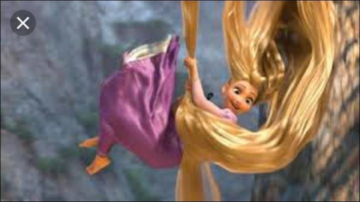 J'ai les cheveux blonds et très longs. J'habite dans un donjon. Qui suis-je ?
