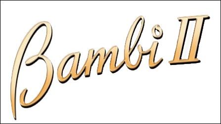 Quel animal est Bambi ?