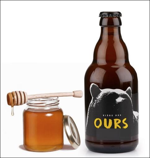 Dans quel pays cette bière au miel est-elle produite ?