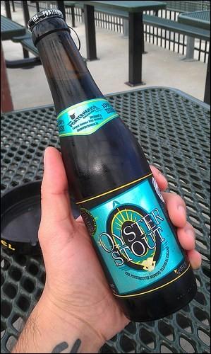 Dans quel pays cette bière aux huîtres est-elle produite ?