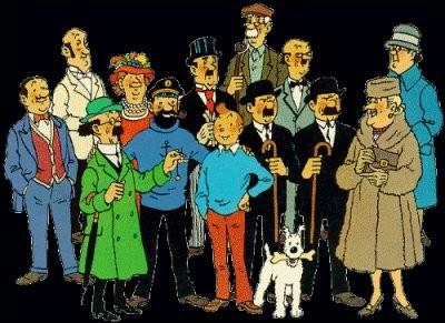 """Quel personnage des albums de """"Tintin"""", est un peu dur de la feuille ?"""