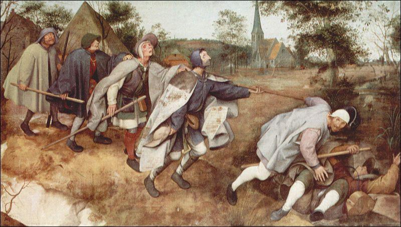 Comment se nomme ce triste tableau peint par Brueghel ?