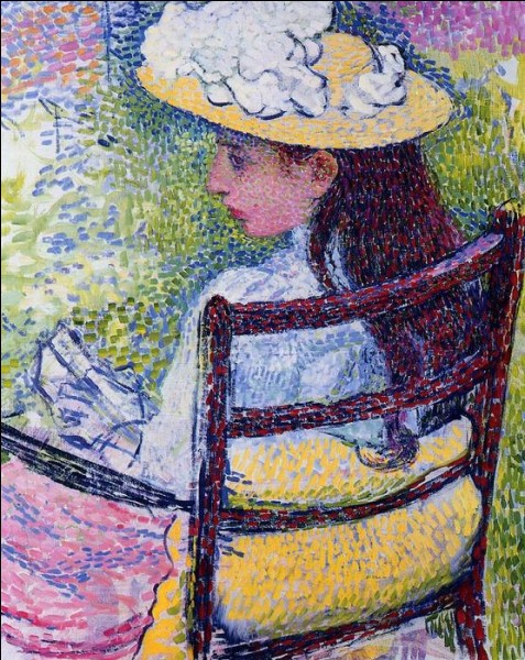 Qui a peint la jolie Jeanne Pissarro ?