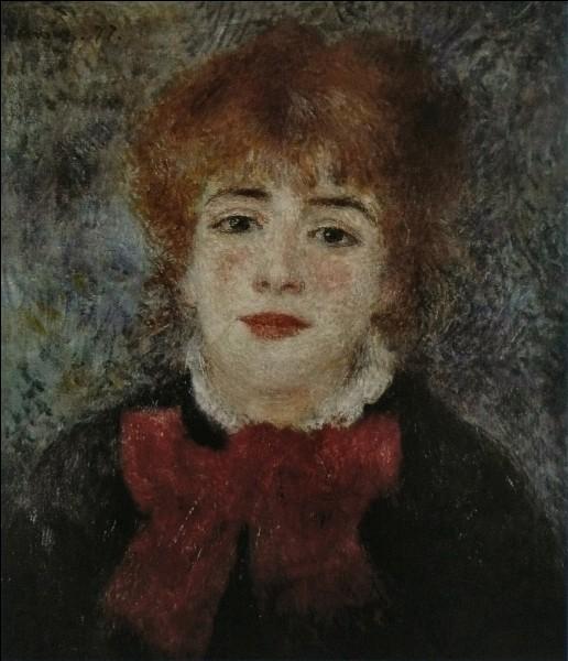 De qui est ce portrait de Jeanne Samary ?