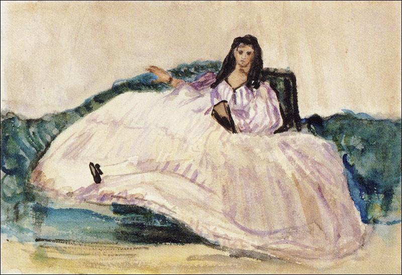 Qui a peint Jeanne Duval, maîtresse de Baudelaire ?