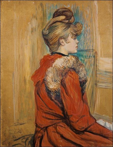 Qui a pris pour muse Jeanne Fontaine ?