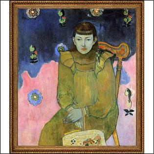 Qui a fait le portrait de Jeanne Goupil ?
