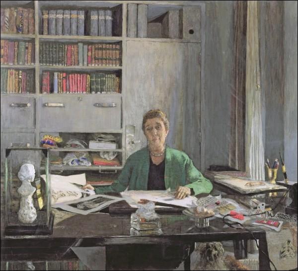 Qui a représenté sur cette toile la célèbre Jeanne Lanvin ?