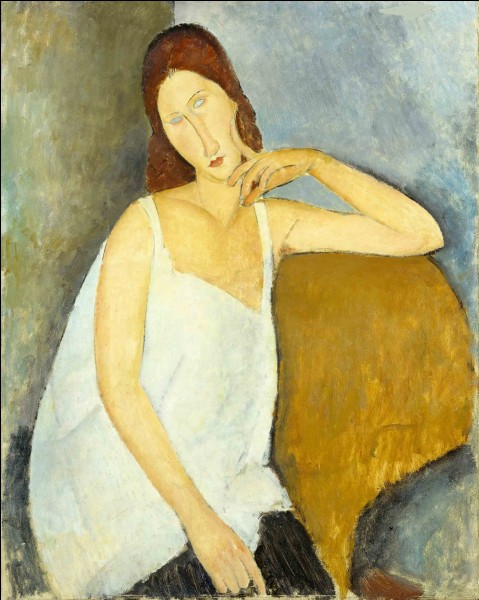 Qui a peint Jeanne Hebuterne ?