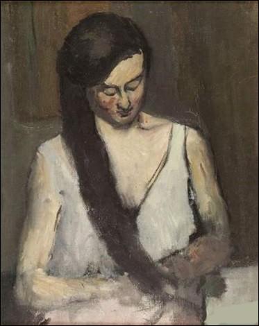 Qui a immortalisé, sur cette toile, Jeanne se coiffant ?