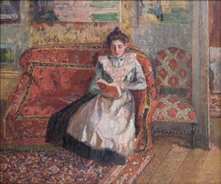 Voici encore une peinture de Jeanne, par le peintre :