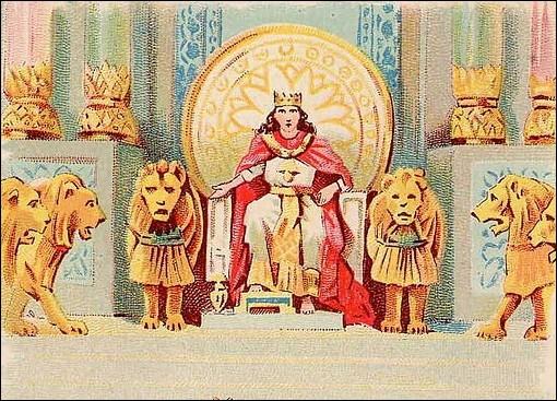 J'ai été le roi le plus sage de l'histoire d'Israël. (1 Rois 3 : 5-13)