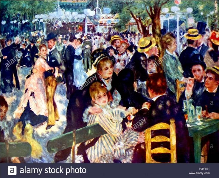 """Auguste Renoir a peint le célèbre tableau """"Le Bal au Moulin de la Galette"""" en 1876. Où se trouvait le Moulin de la Galette à son époque ?"""