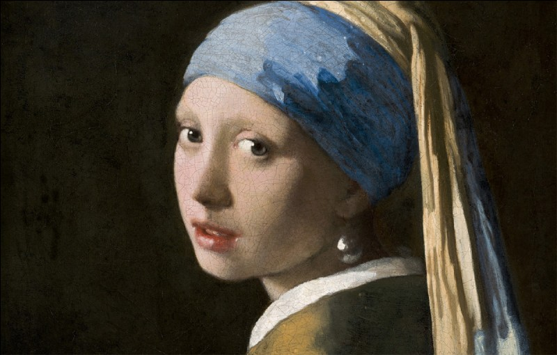 Quel tableau de Vermeer est reproduit à des millions d'exemplaires sur des pots de yaourt ?