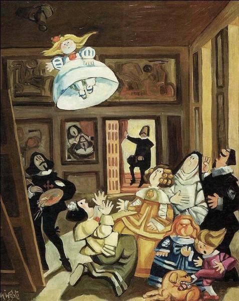Qui sont les Ménines dans le tableau éponyme de Diego Velasquez ?